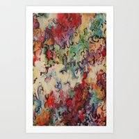 baroque Art Prints featuring Baroque by Gertrude Steenbeek