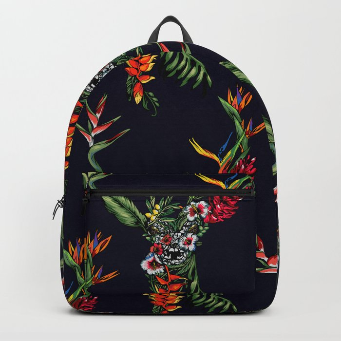 Tropical Deer Backpack
