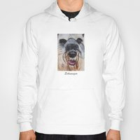 schnauzer Hoodies featuring Schnauzer by Doggyshop