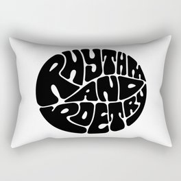 Rap Rectangular Pillow
