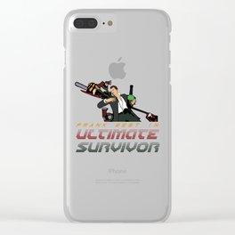 ULTIMATE SURVIVOR Clear iPhone Case