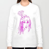 nicki Long Sleeve T-shirts featuring cronart by cronart