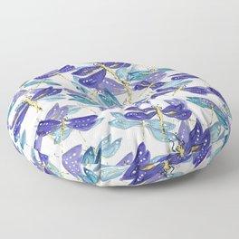 Dragonfly flight Floor Pillow