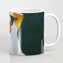 Nadal Tennis Over the Head Forehand Coffee Mug