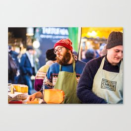 Cheese Please Canvas Print