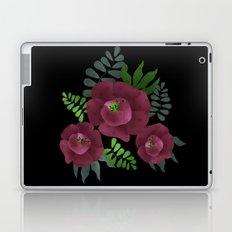Burgundy roses. Laptop & iPad Skin