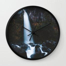 Dawson Falls Wall Clock