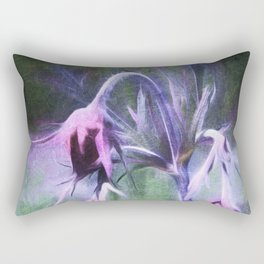 Prairie Smoke Rectangular Pillow