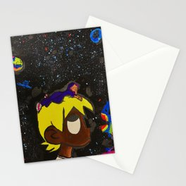 Uzi,painting,mini,small,poster,eternal,album,original,art,artwork,decor,rap,rapper,dope,canvas,cool, Stationery Cards