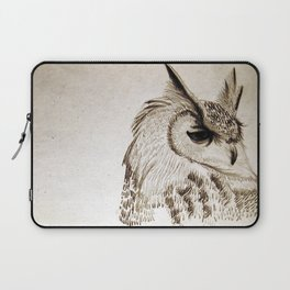 Great Horned Owl Laptop Sleeve