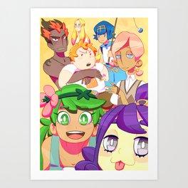 Pkmn Captains Art Print