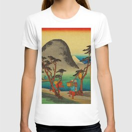 Vintage Woodblock - Hiratsuka Japan T-shirt