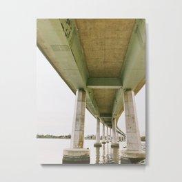 Just water under the bridge   Annapolis, MD Metal Print