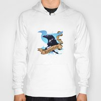 ravenclaw Hoodies featuring Ravenclaw by Markusian
