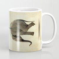 dumbo Mugs featuring Dumbo by Vin Zzep