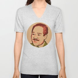 Langston Hughes Unisex V-Neck