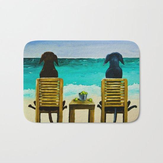 Beach Bums Bath Mat