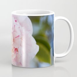 Strawberry Blonde Camellia in Bloom Coffee Mug