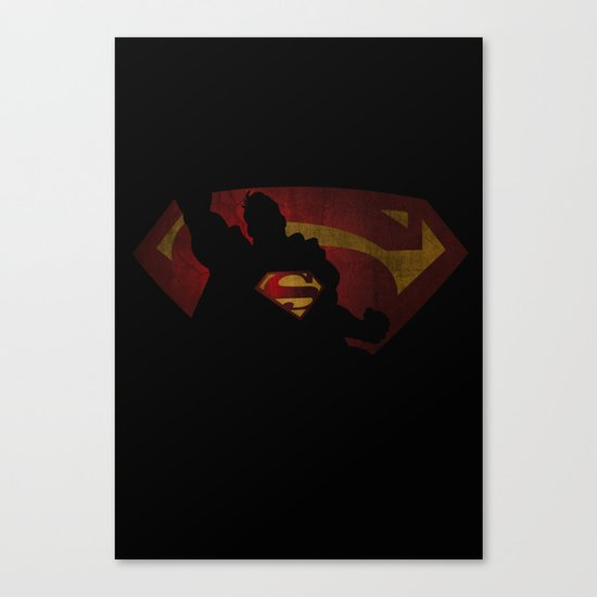 The man of sky Canvas Print