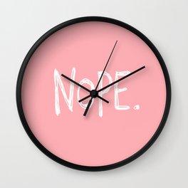 Nope. Wall Clock