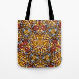 Autumn Franklinia Tote Bag