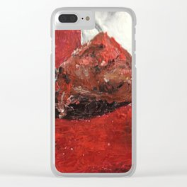Meatball Clear iPhone Case
