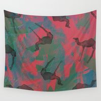 camel Wall Tapestries featuring Camel toe by [Oxz]