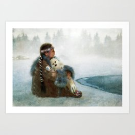 Sing You a Lullabye Art Print