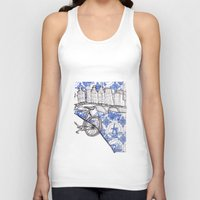 amsterdam Tank Tops featuring Amsterdam by crocomila