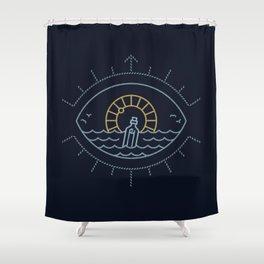 Eye Sea Shower Curtain
