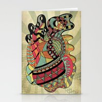 carousel Stationery Cards featuring Carousel by Tuky Waingan