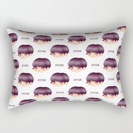 BTS Suga Cute Chibi Rectangular Pillow