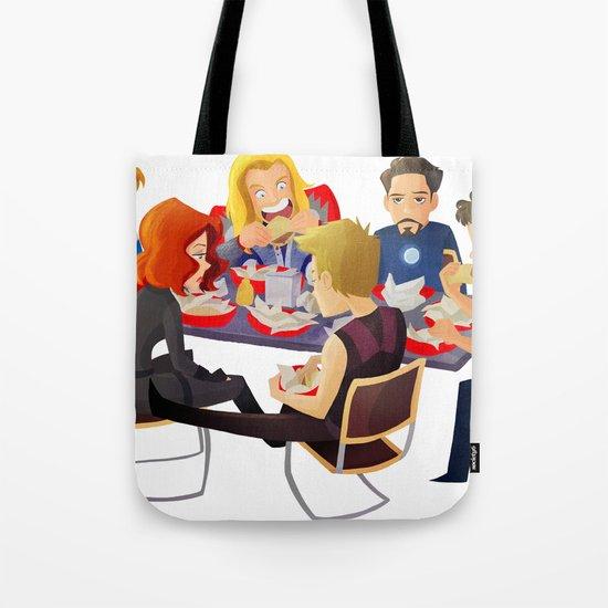 Avengers- Shawarma Tote Bag