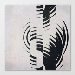 Broken Circles Canvas Print