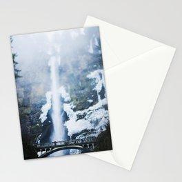 Frozen Multnomah Falls Stationery Cards