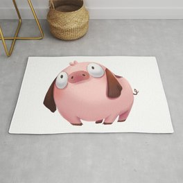 Beagle Pig Rug