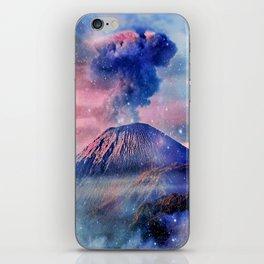 Active volcano iPhone Skin