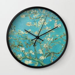 Van Gogh Almond Blossoms Painting Wall Clock