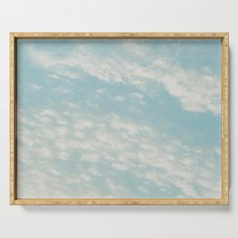 Sky - Clouds Serving Tray