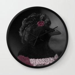 Miss Crow Wall Clock