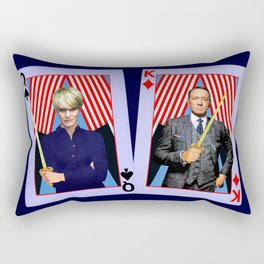 Frank and Claire - An Odd Pair Rectangular Pillow