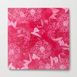 Giardino Pink Metal Print
