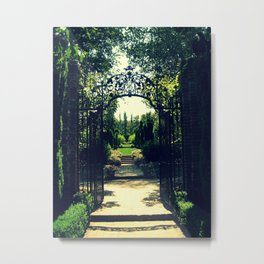 Filoli Path 1 Metal Print