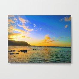 Hawaiian Sunset Beauty Metal Print