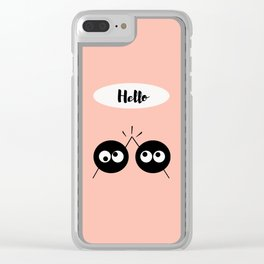 Hello Clear iPhone Case