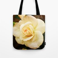 romance Tote Bags featuring Romance by Clare Bevan Photography