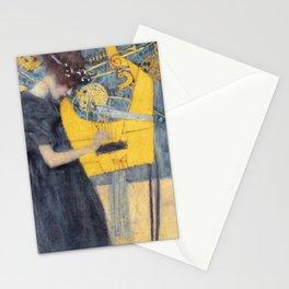 "Gustav Klimt ""Music (Die Musik)"" Stationery Cards"