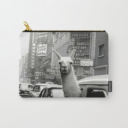 Llama Vintage Carry-All Pouch