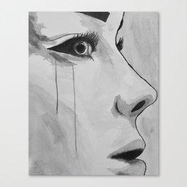 unwanted tears / BayliSwett Canvas Print