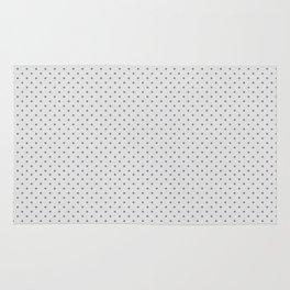 Polka Dot White Rug